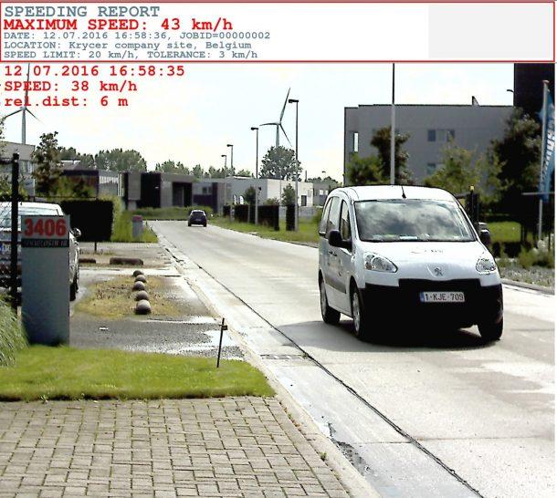 Snelheidscamera Enforce II