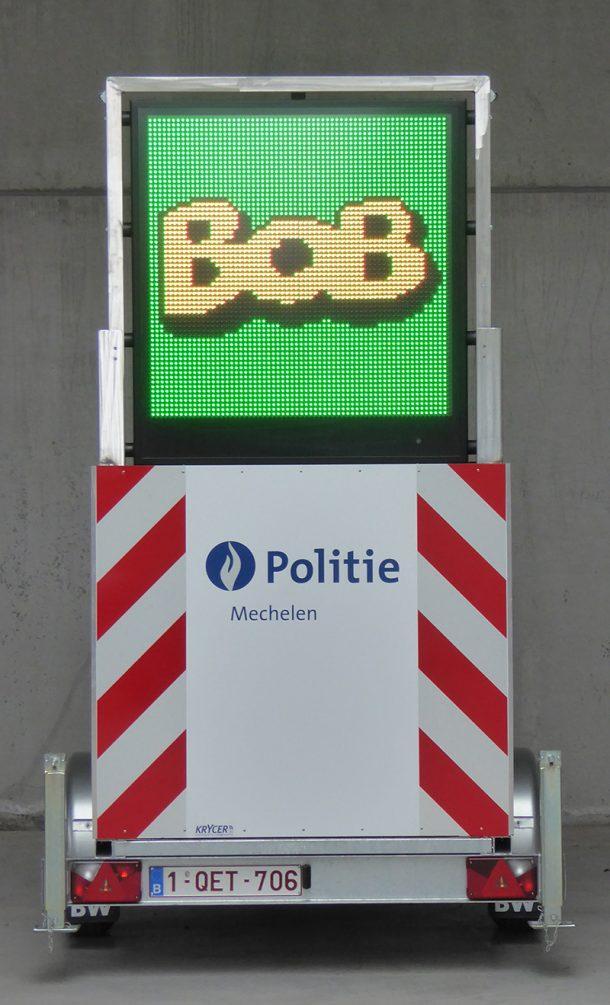 LED Signalisatie aanhangwagen